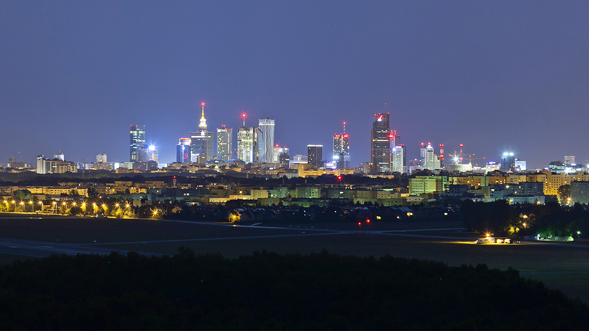 Jak zmieniła się panorama Warszawy w ciągu 2 lat?