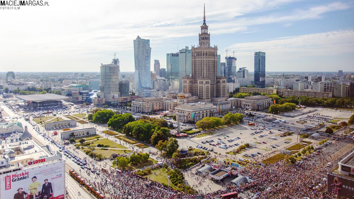 """IMG_2941-61 Godzina """"W"""" w centrum Warszawy"""