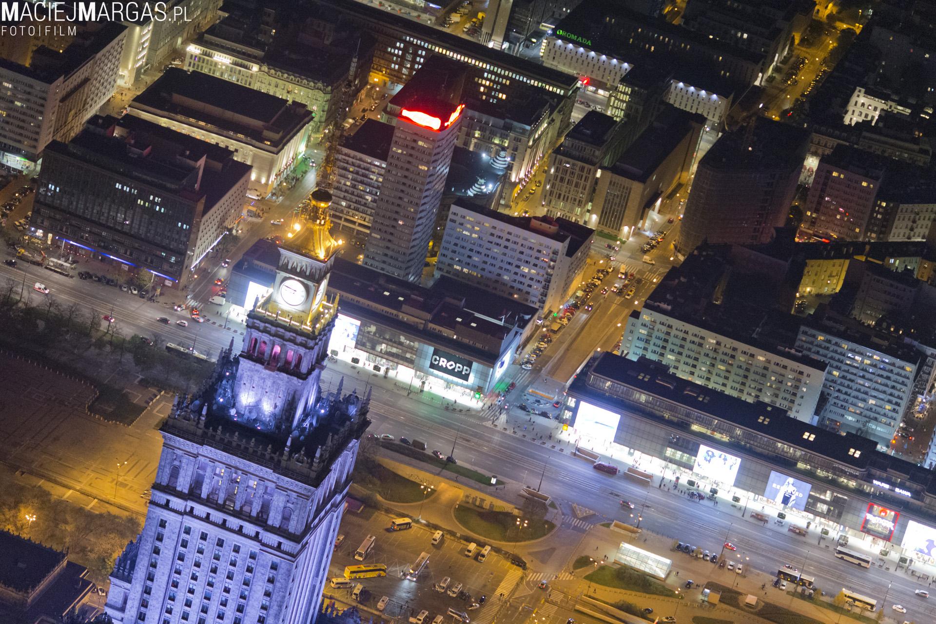 margas00024 Warszawa z lotu ptaka - część 2.