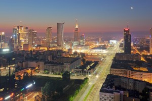 millenium-112-300x200 Panoramy Warszawy | noc