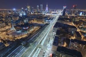 millenium-21-300x200 Panoramy Warszawy | noc