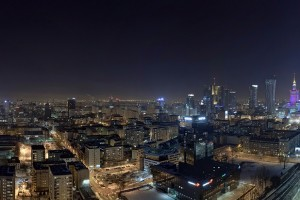 millenium-31-300x200 Panoramy Warszawy | noc