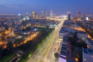 millenium-41-300x200 Panoramy Warszawy | noc