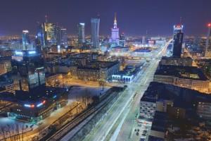 millenium-51-300x200 Panoramy Warszawy | noc