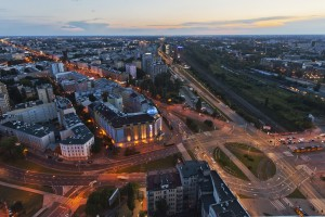 millenium-72-300x200 Panoramy Warszawy | noc