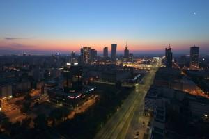 millenium-82-300x200 Panoramy Warszawy | noc
