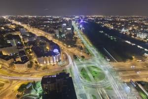 millenium-92-300x200 Panoramy Warszawy | noc