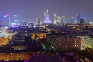 mlotek-11-300x200 Panoramy Warszawy | noc