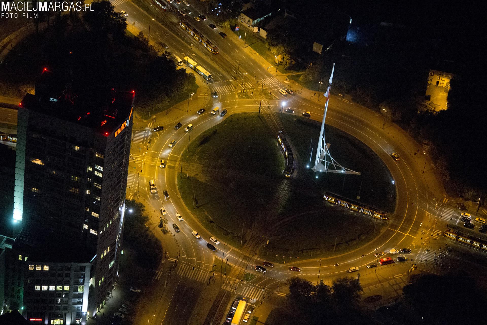 noc00026 Warszawa z lotu ptaka - część 2.