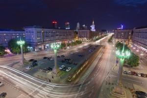plac-konst1-300x200 Panoramy Warszawy | noc
