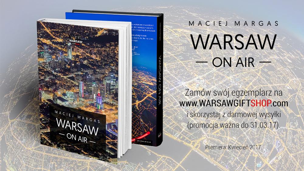 promocja Serce Miasta - WARSAW ON AIR