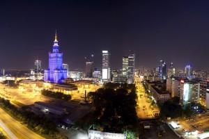 punktowiec-12-300x200 Panoramy Warszawy | noc