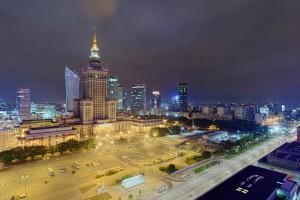 punktowiec-21-300x200 Panoramy Warszawy | noc