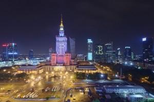 punktowiec-41-300x200 Panoramy Warszawy | noc