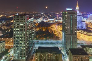 rondo-12-300x200 Panoramy Warszawy | noc