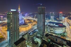 rondo-41-300x200 Panoramy Warszawy | noc