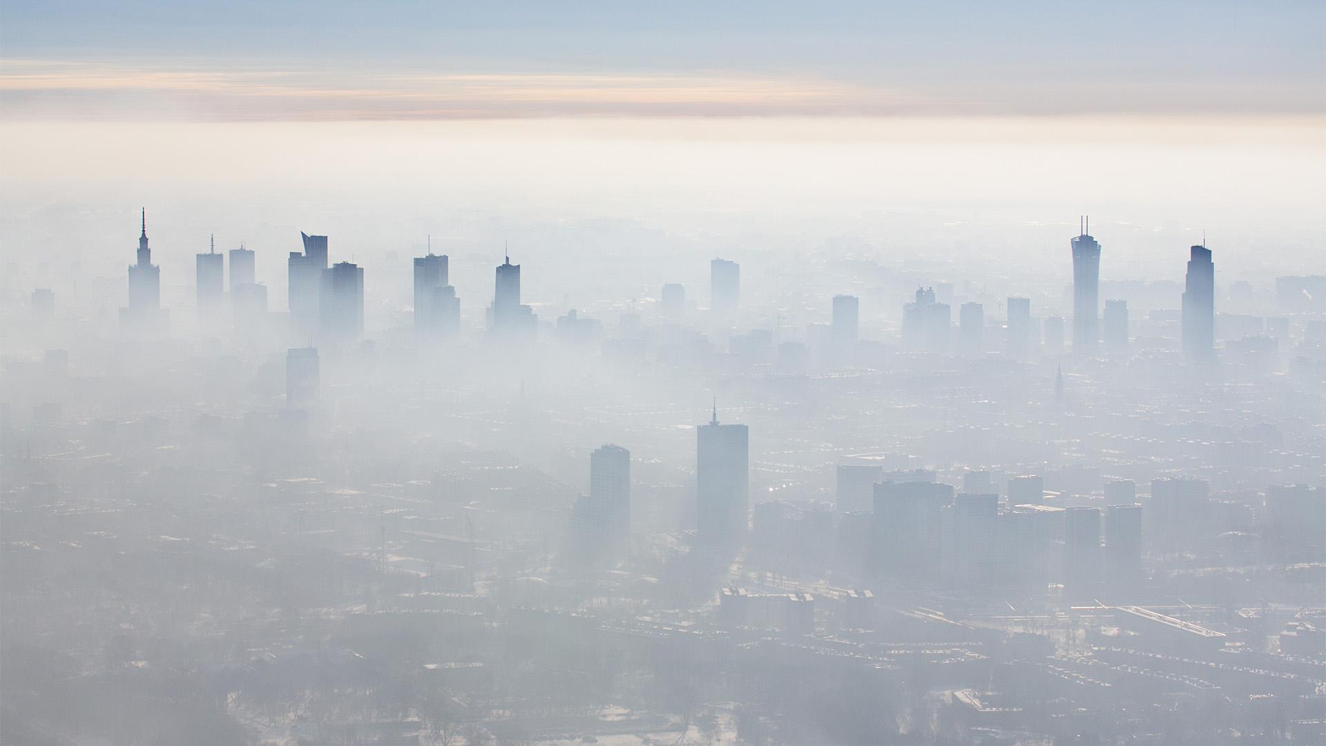 smog w warszawie 0 - Smog w Warszawie - czy od zeszłego roku coś się zmieniło?