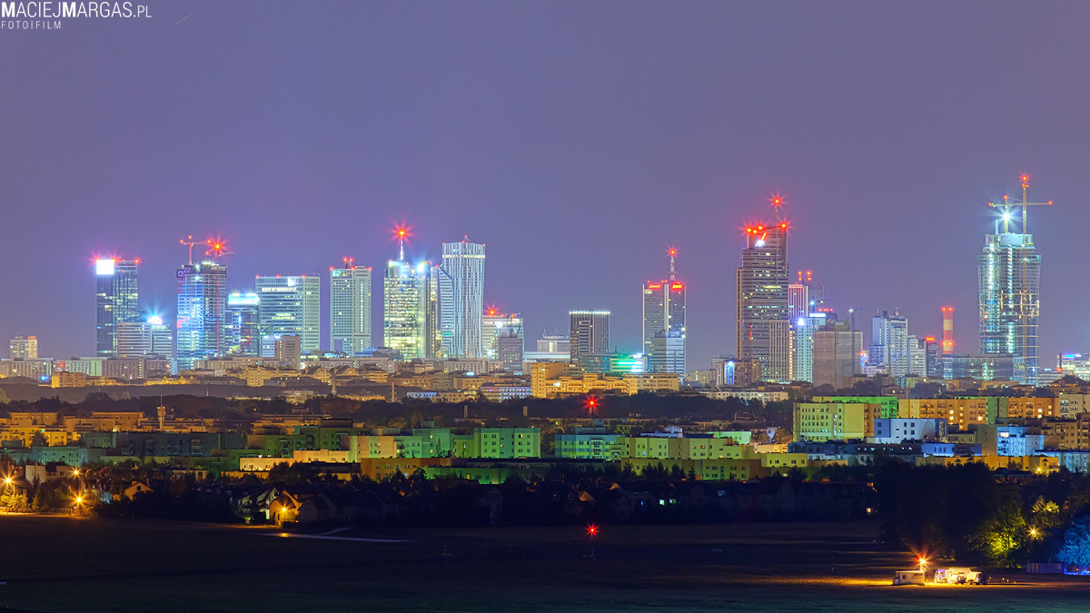 Jak wyglądałaby panorama Warszawy bez PKiN