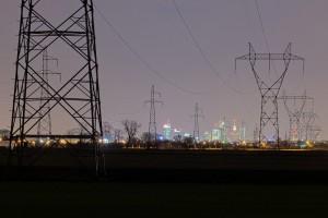 z-daleka-300x200 Panoramy Warszawy | noc